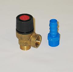 Gasbutik | Reservedel | Sikkerhedsventil type 37 til Coopra type 37 gaskedel