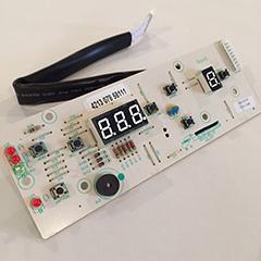 Gasbutik - Front display reservedel til White Knight Eco86a gastørretumbler.