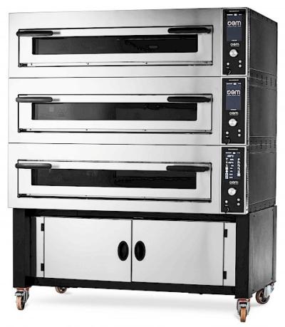 Gasbutik | OEM Pizzasystem | SuperTop Elektrisk Ovn