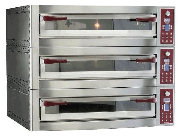Gasbutik | OEM Pizzasystem | Energy 935/3 tredobblet el-ovn