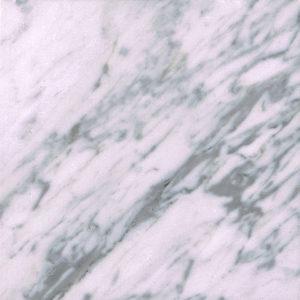 Blankpoleret hvid marmor