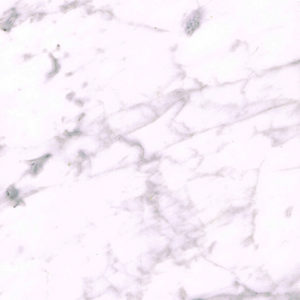 Matslebet hvid marmor