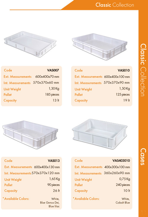 Dough Cases   Classic Collection