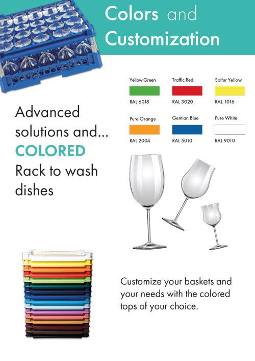 Racks farver
