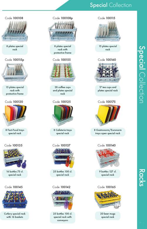 Racks Special Collection til opvaskning