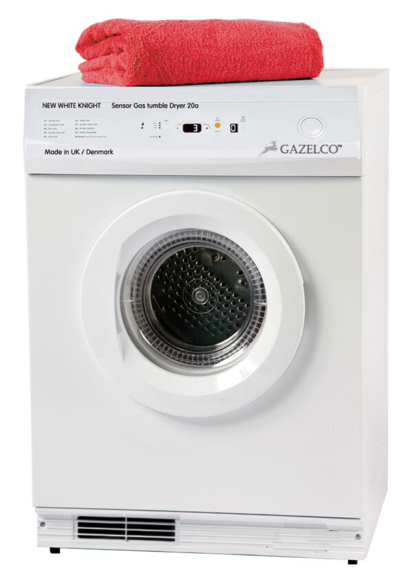 Bygas   Town Gas   New White Knight Tumble Dryer